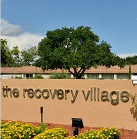 Recovery Village sign