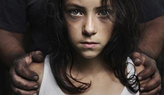 Young girl abused by her drug addicted father