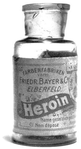 A Heroin Bottle from the 1920s