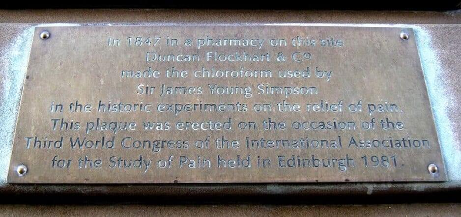 International Association for the Study of Pain Plaque