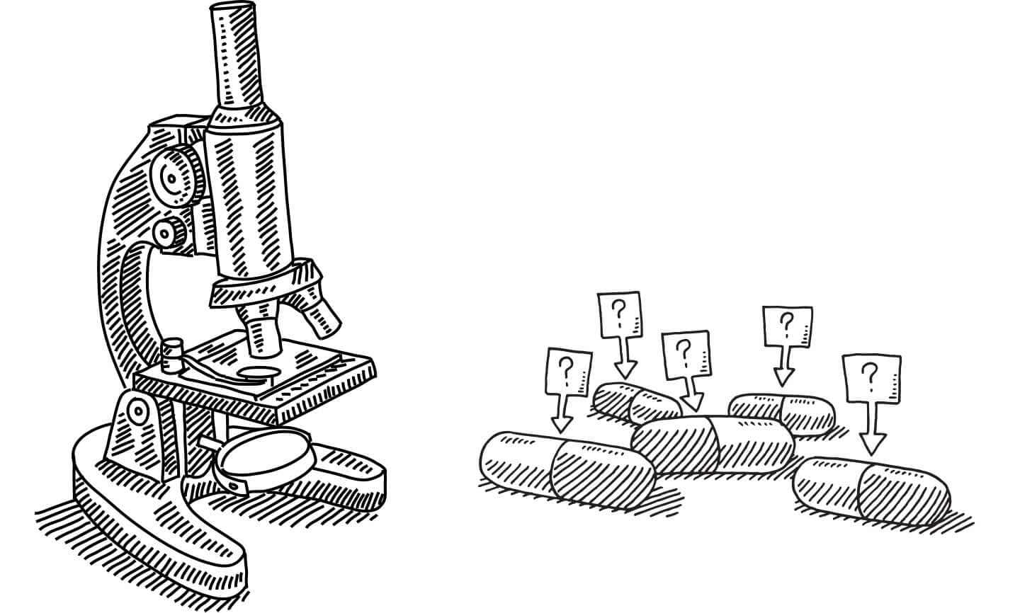 Microscope and Pills