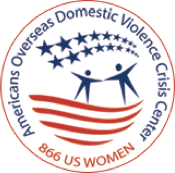 American Overseas Domestic Violence Crisis Center Logo