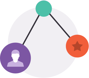 Network of people icon