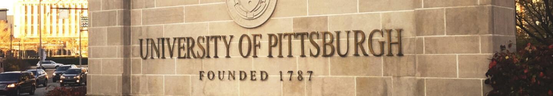 University of Pittsburgh wall
