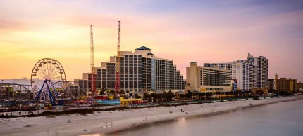 Daytona Beach, Florida City Skyline