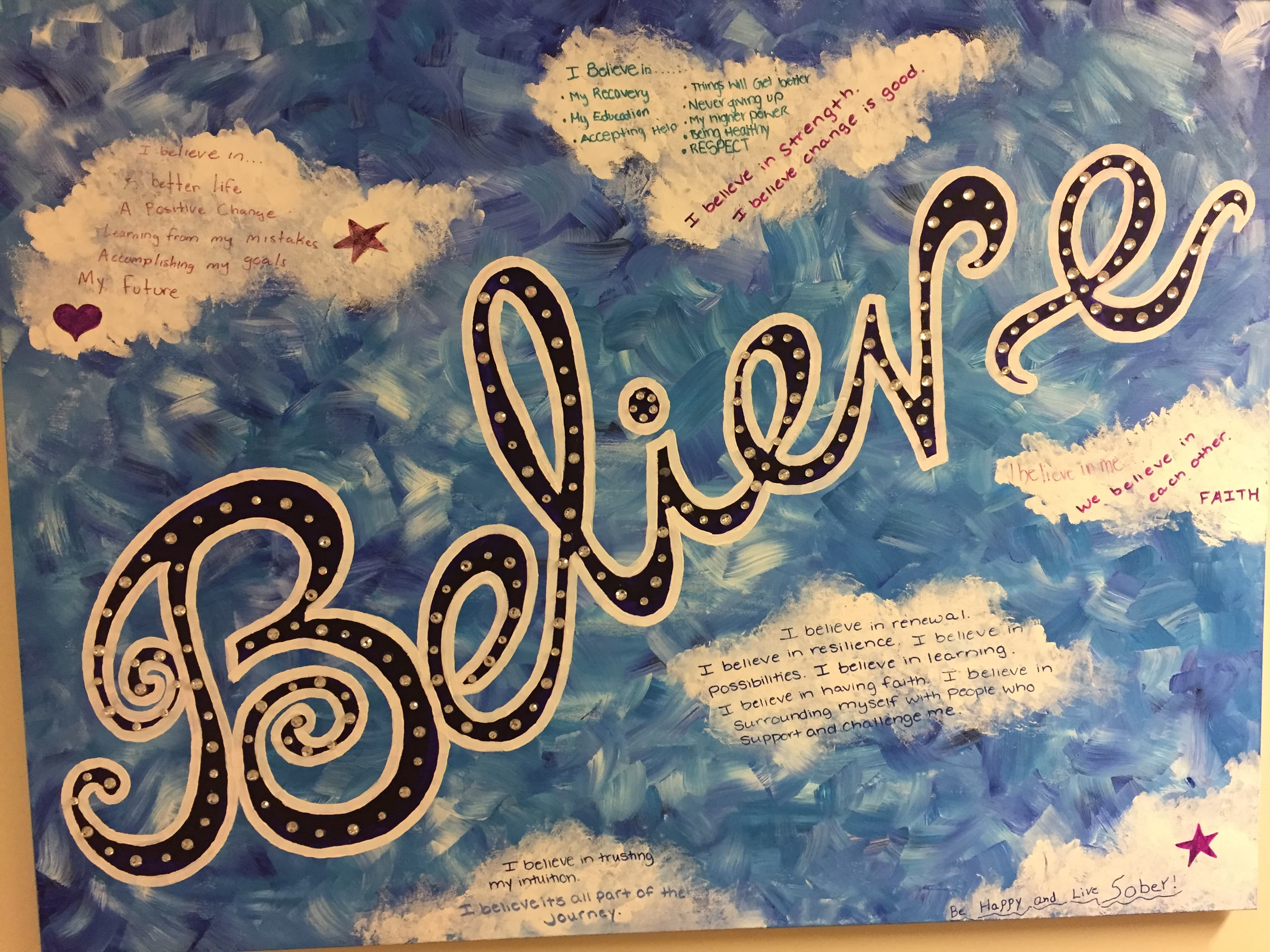 Believe Artwork created by students