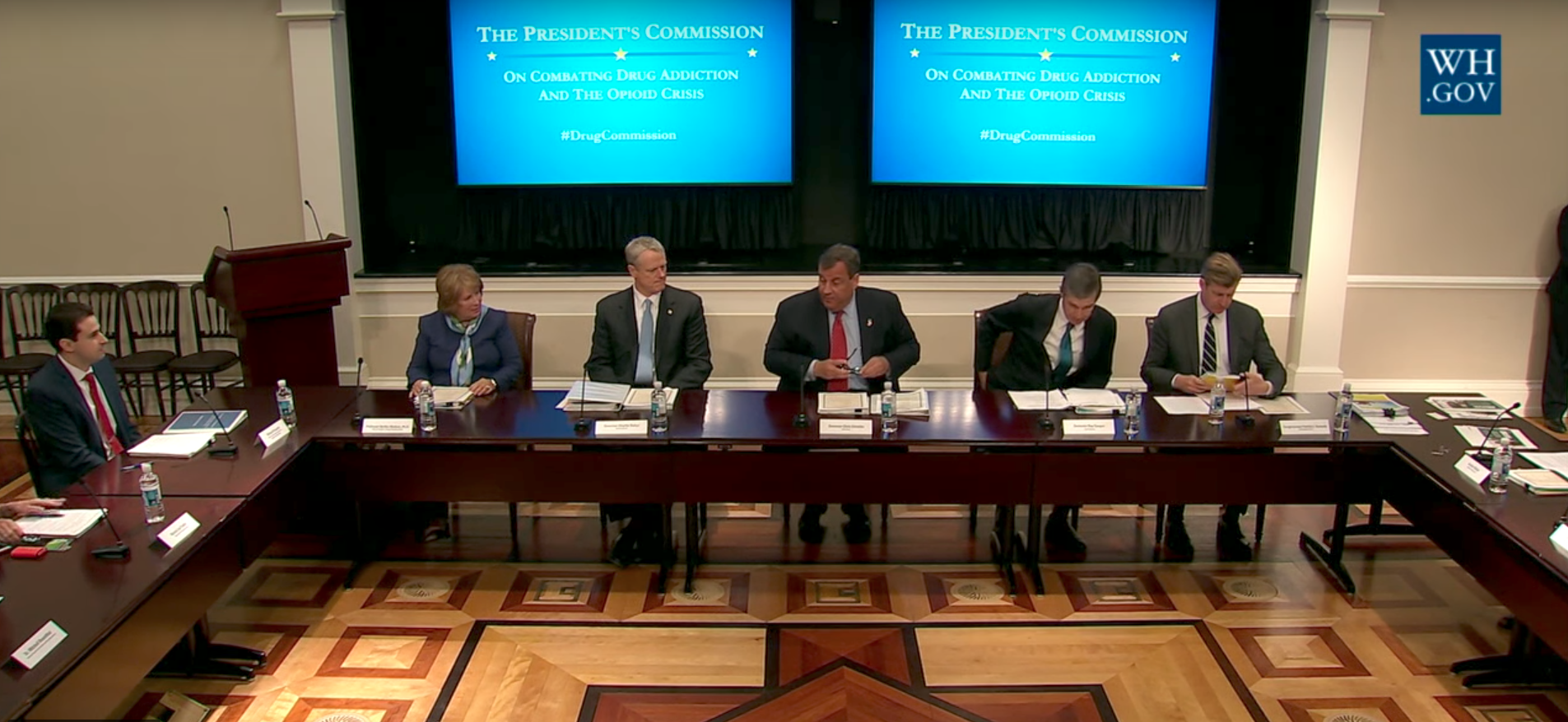 president's opioid commission meeting
