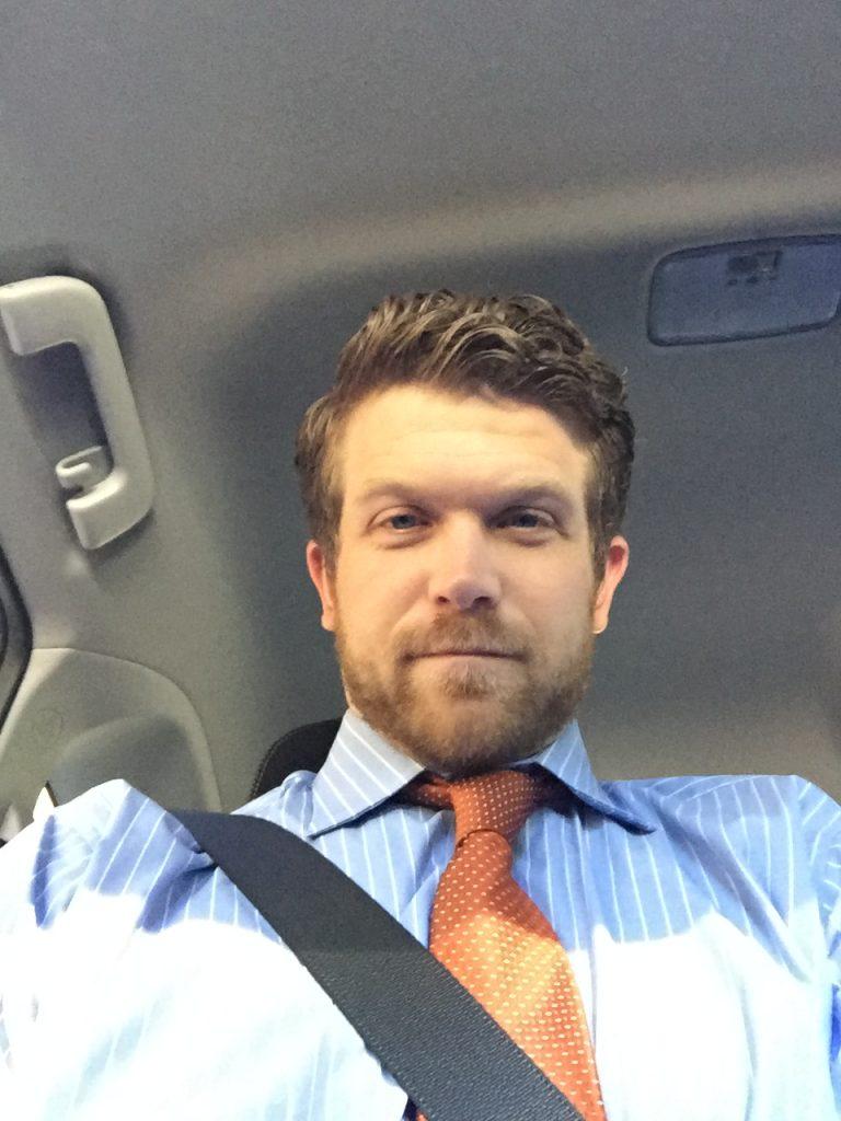 Mark Goodson in car